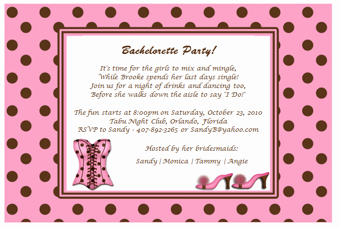 Bachelorette Party Invites Templates Elegant Quotes for Bachelorette Party Invitations Quotesgram