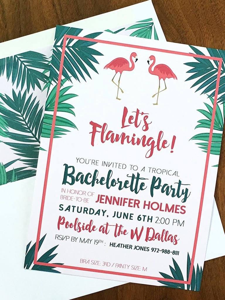 Bachelorette Party Invites Templates Luxury 14 Diyable Bachelorette Party Invitation Templates
