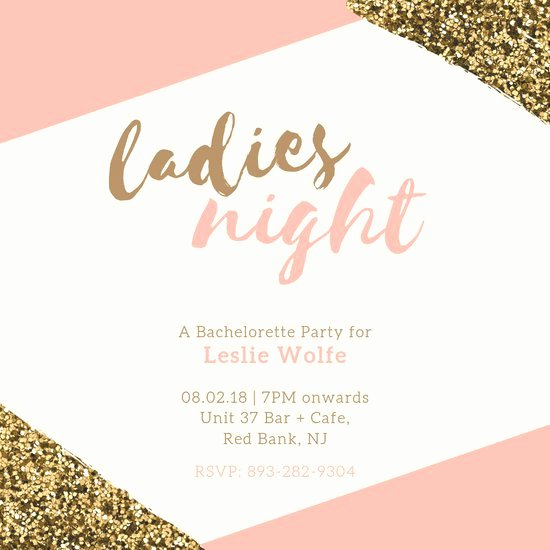 Bachelorette Party Invites Templates Luxury Customize 93 Bachelorette Party Invitation Templates