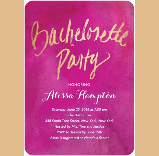 Bachelorette Party Invites Templates Unique Bachelorette Invitation Template – 35 Free Psd Vector
