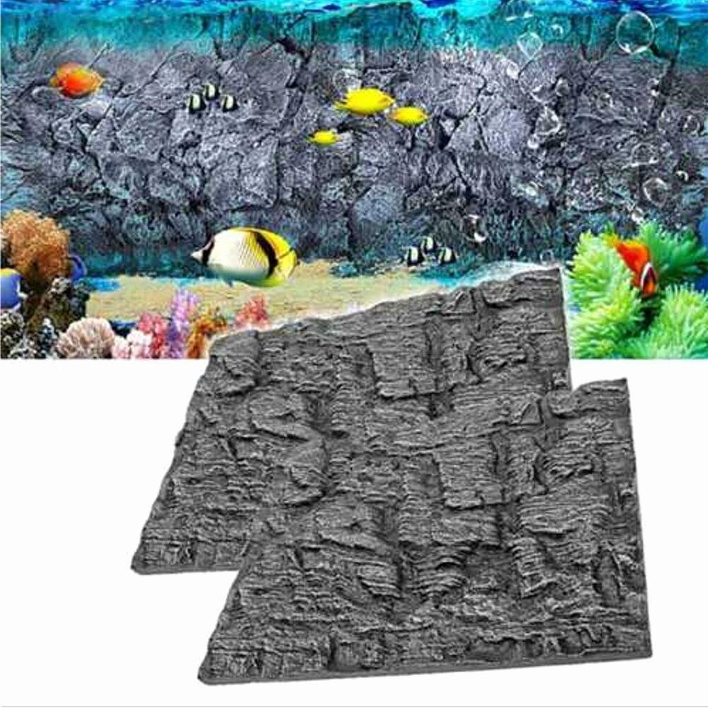 Background for Fish Tank Best Of 1 4pcs 3d Foam Rock Reptile Aquarium Fish Tank Background