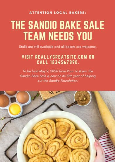 Bake Sale Flyer Wording Beautiful Customize 288 Bake Sale Flyer Templates Online Canva