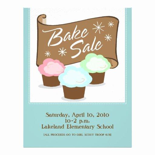 Bake Sale Flyer Wording Inspirational Bake Sale Flyers