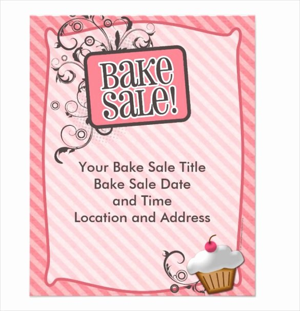 Bake Sale Flyer Wording New 33 Bake Sale Flyer Templates Free Psd Indesign Ai