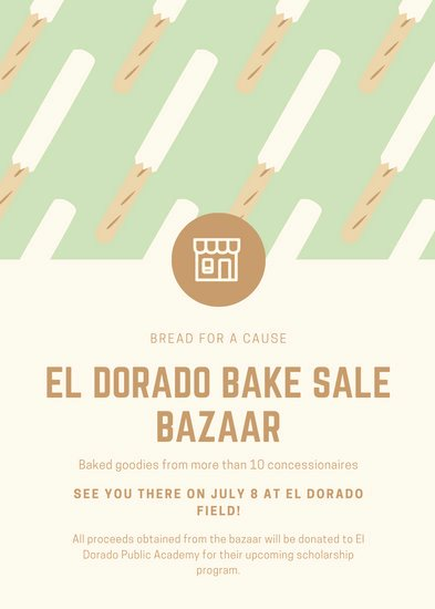 Bake Sale Flyer Wording New Customize 292 Bake Sale Flyer Templates Online Canva