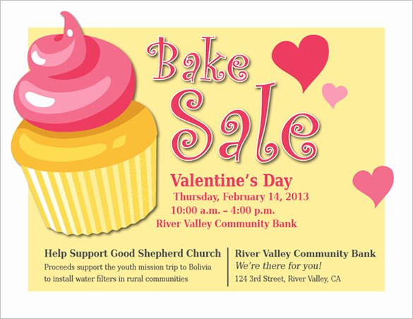 Bake Sale Flyer Wording Unique 34 Bake Sale Flyer Templates Free Psd Indesign Ai