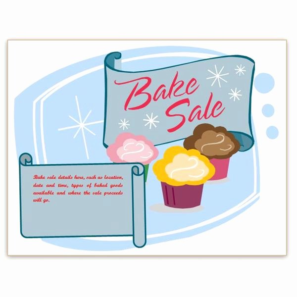 Bake Sale Flyer Wording Unique Find Free Flyer Templates for Word 10 Excellent Options