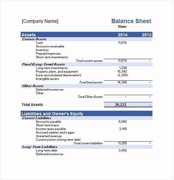 Balance Sheet Template Google Docs Elegant Sample Financial Plan 12 Documents In Pdf Word Excel