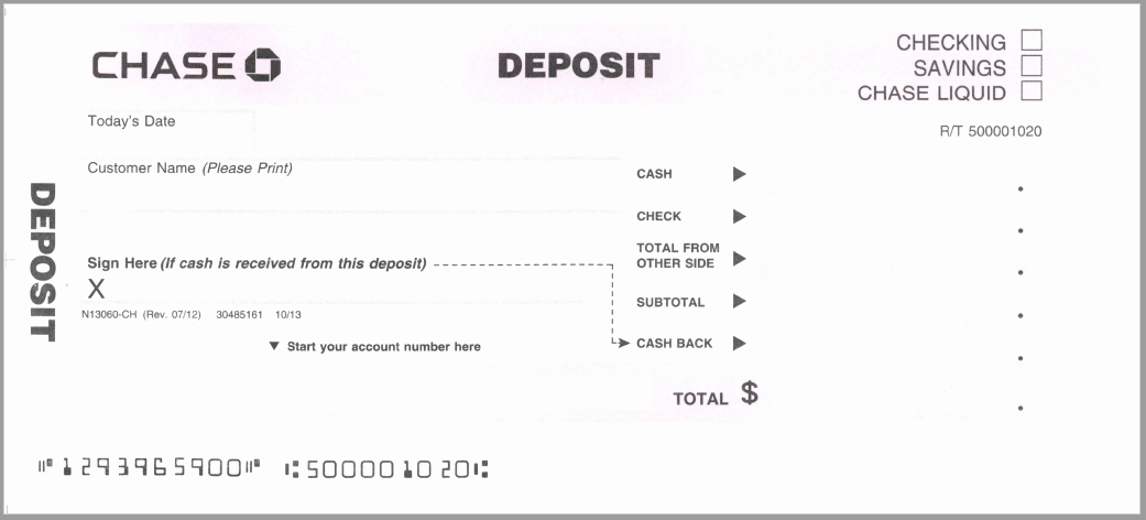 Bank Deposit Slip Template Unique 5 Free Deposit Slip Templates Small Business Resource