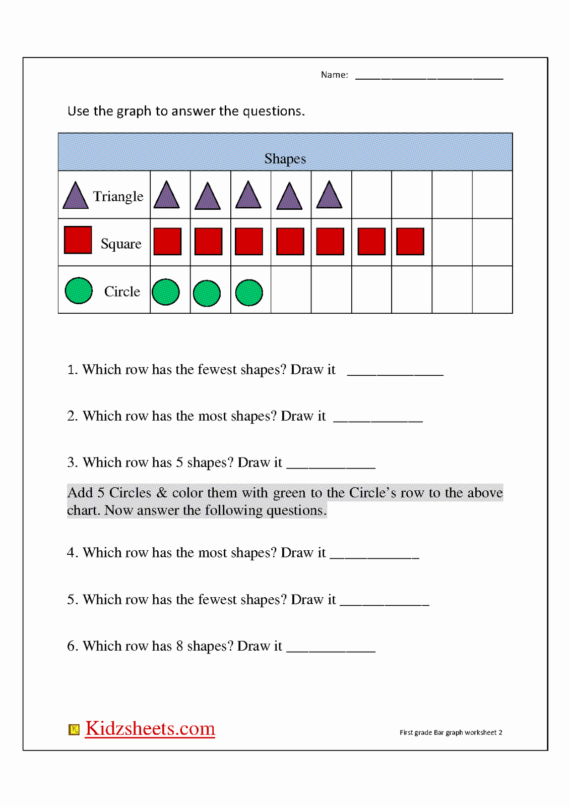 Bar Graph Worksheets Inspirational New 396 First Grade Graphing Worksheets