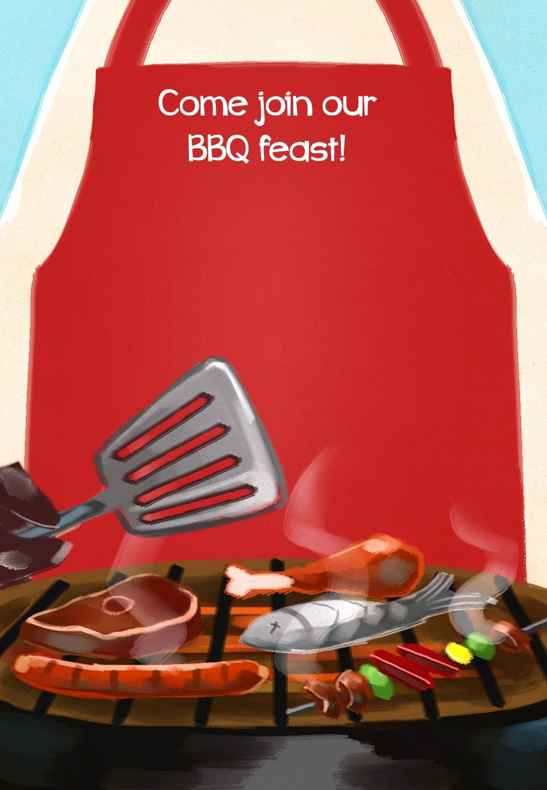 Barbecue Invitation Free Template Fresh Bbq Feast Free Printable Party Invitation Template