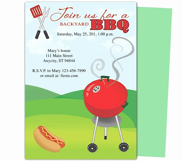 Barbecue Invitation Free Template Inspirational 11 Best Images About Templates On Pinterest