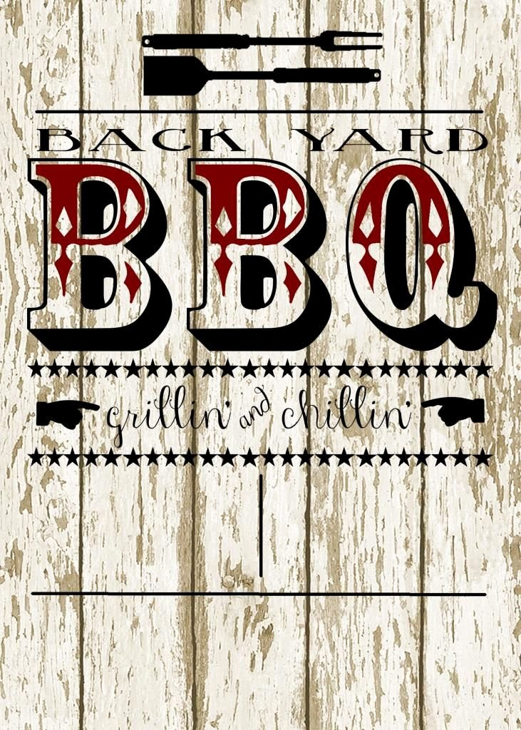 Barbecue Invitation Free Template Luxury My 3 Monsters Back Yard Bbq Party Invitation Free