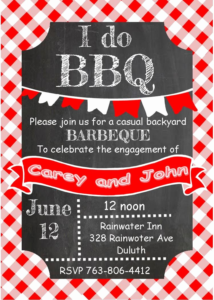 Barbecue Invitation Free Template New Tropical Garden and Bbq Bridal Shower Invitations New