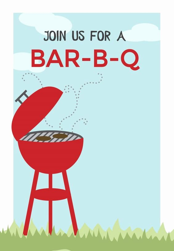 Barbecue Invitation Free Template Unique Bbq Cookout Free Printable Bbq Party Invitation Template