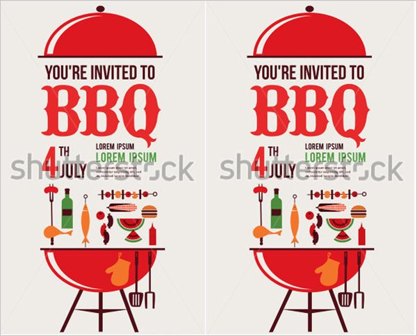 Barbecue Invitation Free Template Unique Braai Invitation Cards