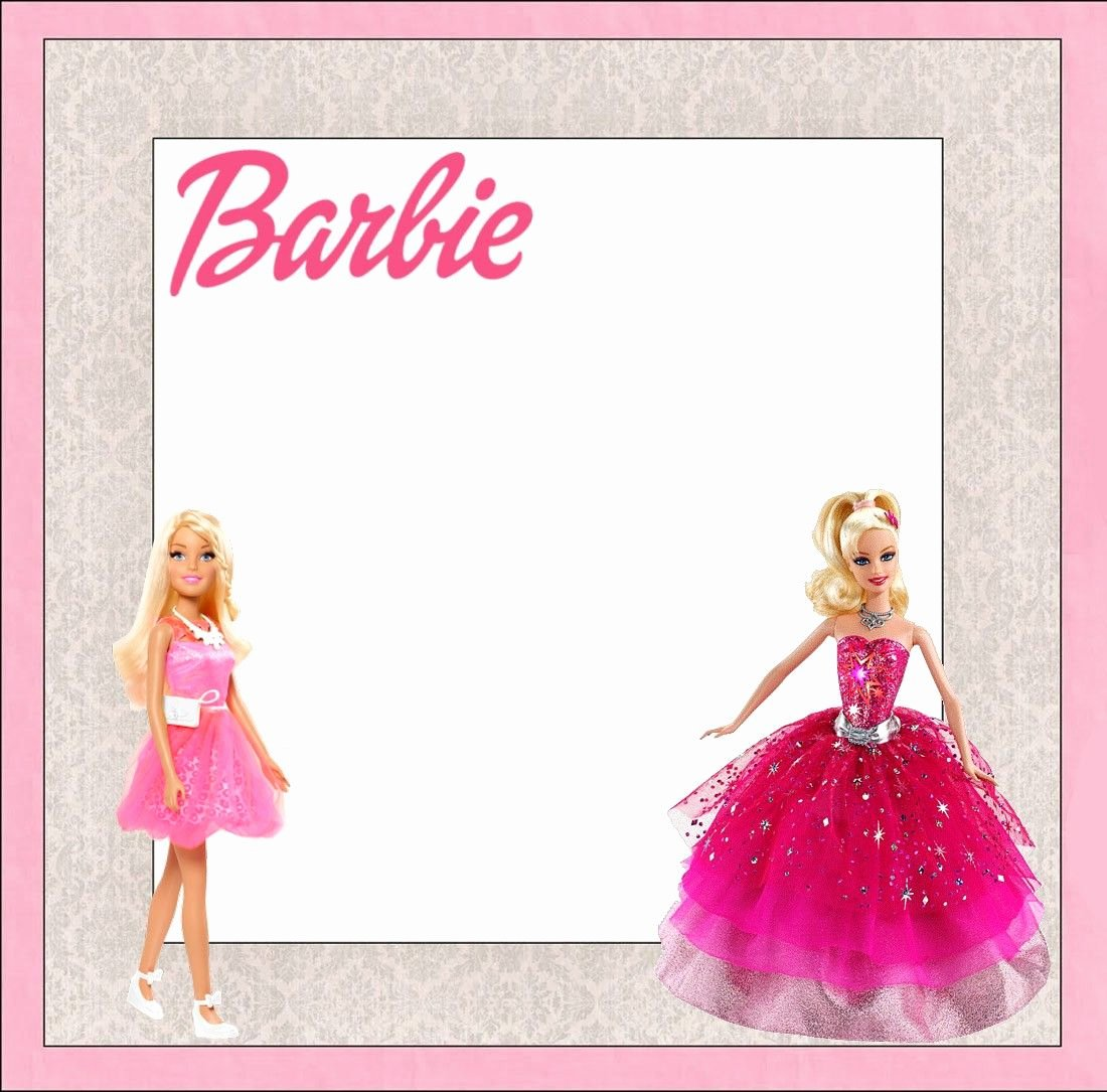 Barbie Invitations Templates Free Best Of Free Printable Barbie Birthday Invitation Template