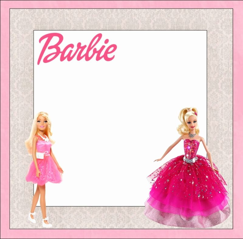 Barbie Invitations Templates Free Inspirational Barbie Invitations You Can Really Surprise Your Guests