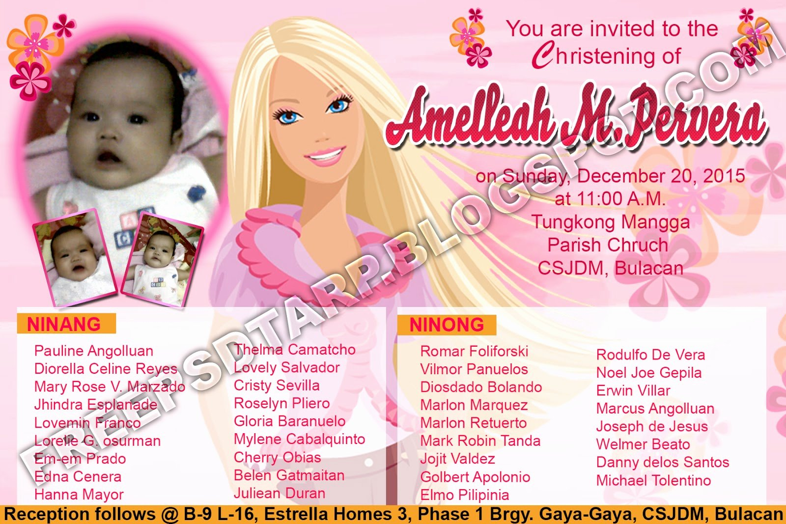 Barbie Invitations Templates Free New Free Psd Barbie Invitation 4r Size Free Psd Design