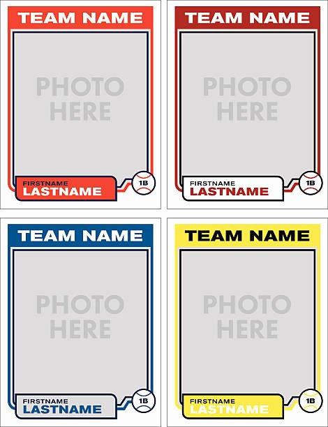 Baseball Card Template Photoshop Free Best Of Baseball Card Clipart – 101 Clip Art