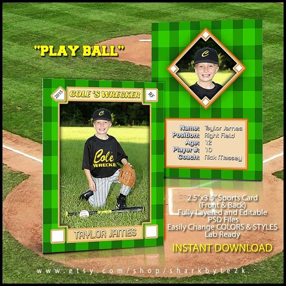 Baseball Card Template Photoshop Free Inspirational 124 Best Shop Templates & Designs Images On Pinterest