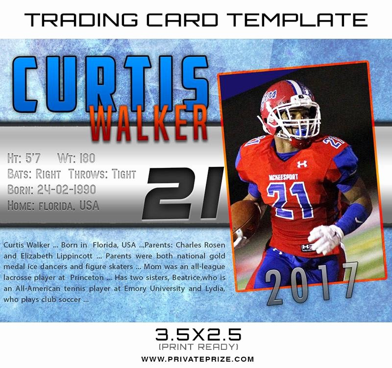 Baseball Card Template Photoshop Free New Curtis Sports Trading Card Shop Template