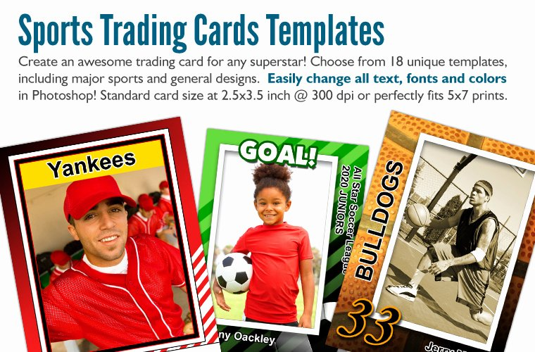 Baseball Card Template Photoshop Free Unique Sports Cards Deals On 1001 Blocks