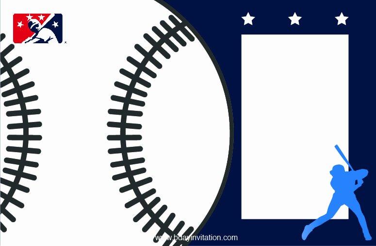 Baseball Invitation Template Free Awesome Nice Free Printable Baseball Birthday Invitation Template