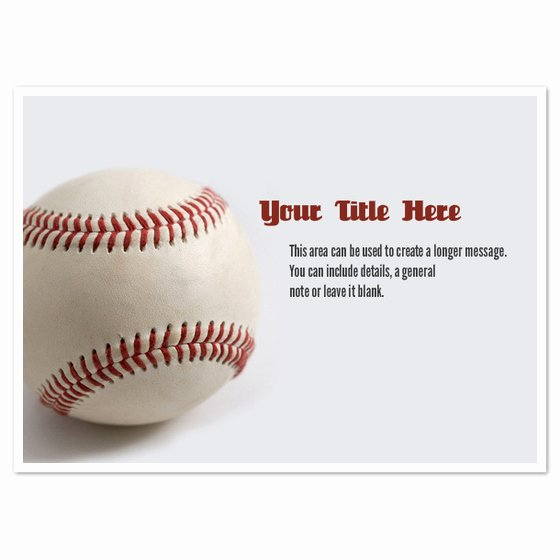 Baseball Invitation Template Free Best Of Baseball In Shadow Invitations & Cards On Pingg