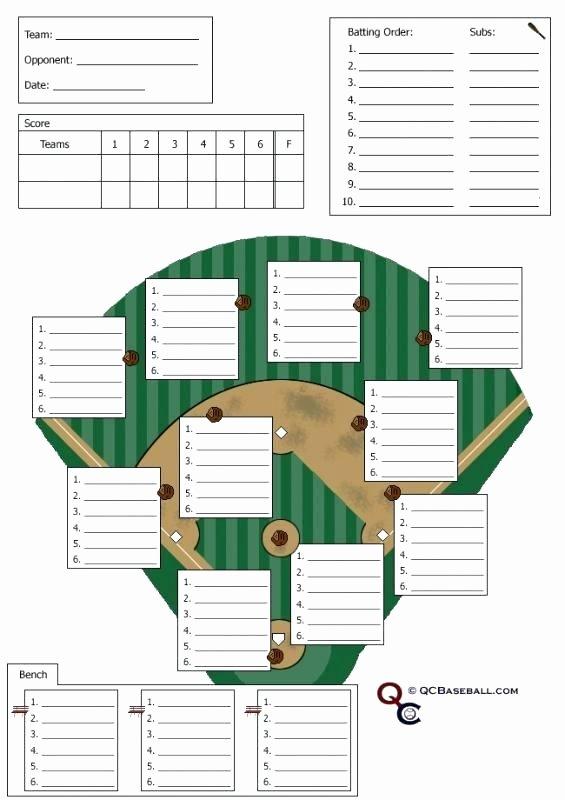 Baseball Lineup Card Generator Luxury Batting Lineup Sheet – Eveapps