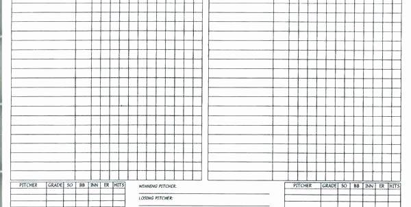 Baseball Lineup Card Generator New Little League Lineup Template