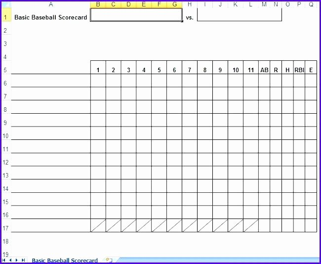 Baseball Lineup Excel Template Fresh Baseball Lineup Excel Template Batting Sheet – Template