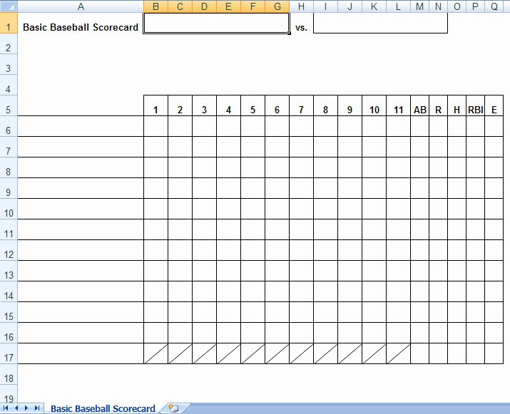 baseball box scores