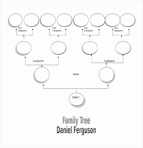 Basic Family Tree Template Best Of 51 Family Tree Templates Free Sample Example format