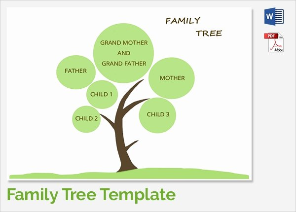 Basic Family Tree Template Best Of Sample Family Tree Chart Template 17 Documents In Pdf
