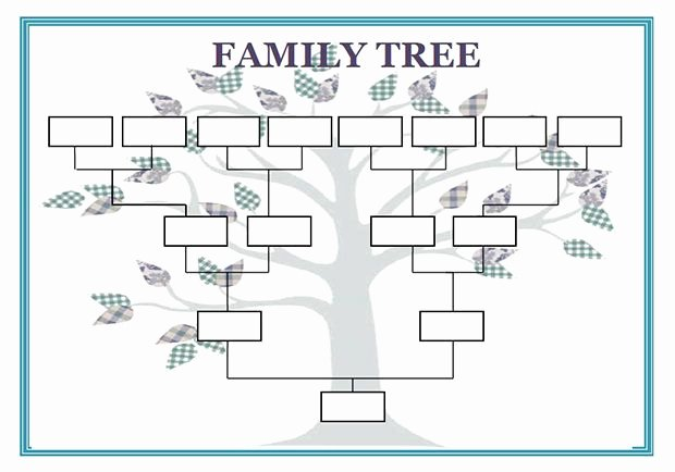 Basic Family Tree Template Unique Pin On Cub Scouts