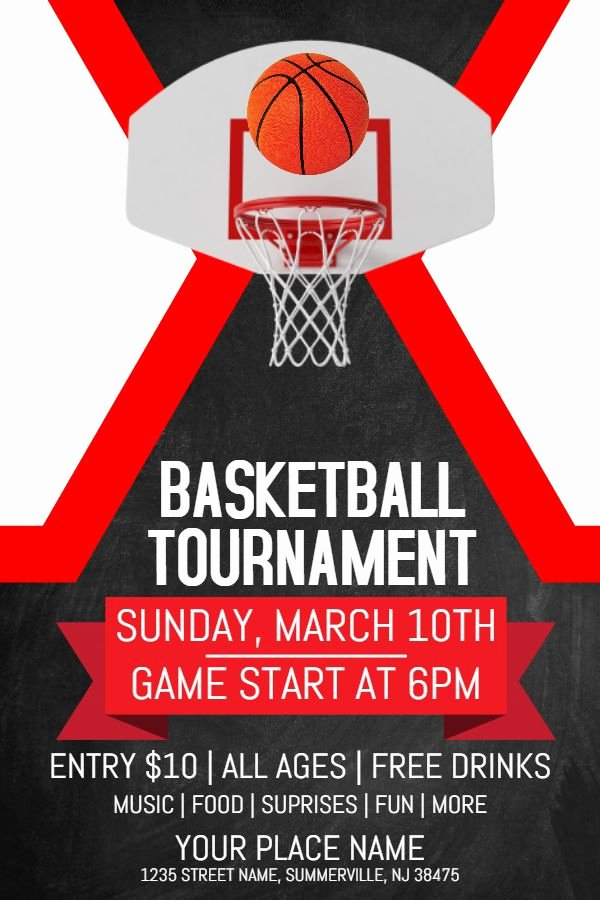 Basketball Flyer Template Word Beautiful 17 Best March Madness Poster Templates Images On Pinterest