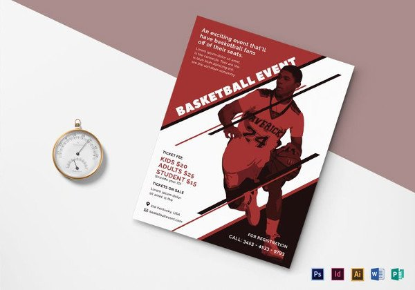 Basketball Flyer Template Word Best Of 49 event Planning Flyers Word Psd Ai Eps Vector