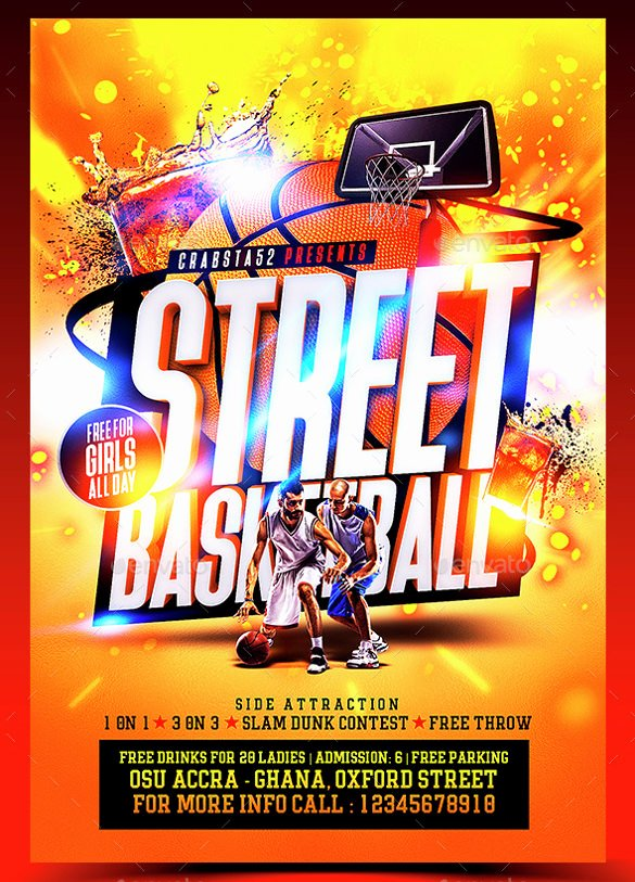 Basketball Flyer Template Word Inspirational Basketball Flyer Template 24 Download Documents In Pdf