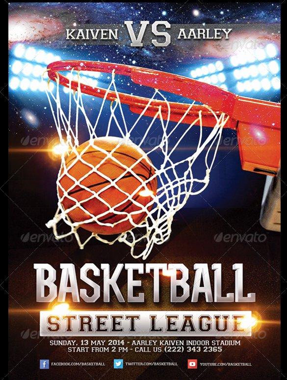 Basketball Flyer Template Word Lovely 31 Basketball Flyers Psd Ai Vector Eps