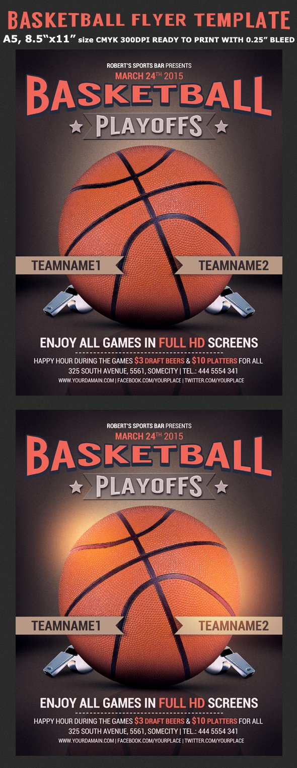 Basketball Flyer Template Word Lovely Basketball Flyer Template