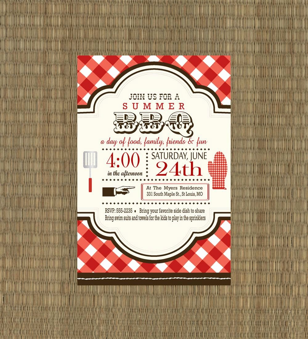 Bbq Party Invitation Wording Awesome Printable Bbq Invitation Rehearsal Dinner Bbq Invitation