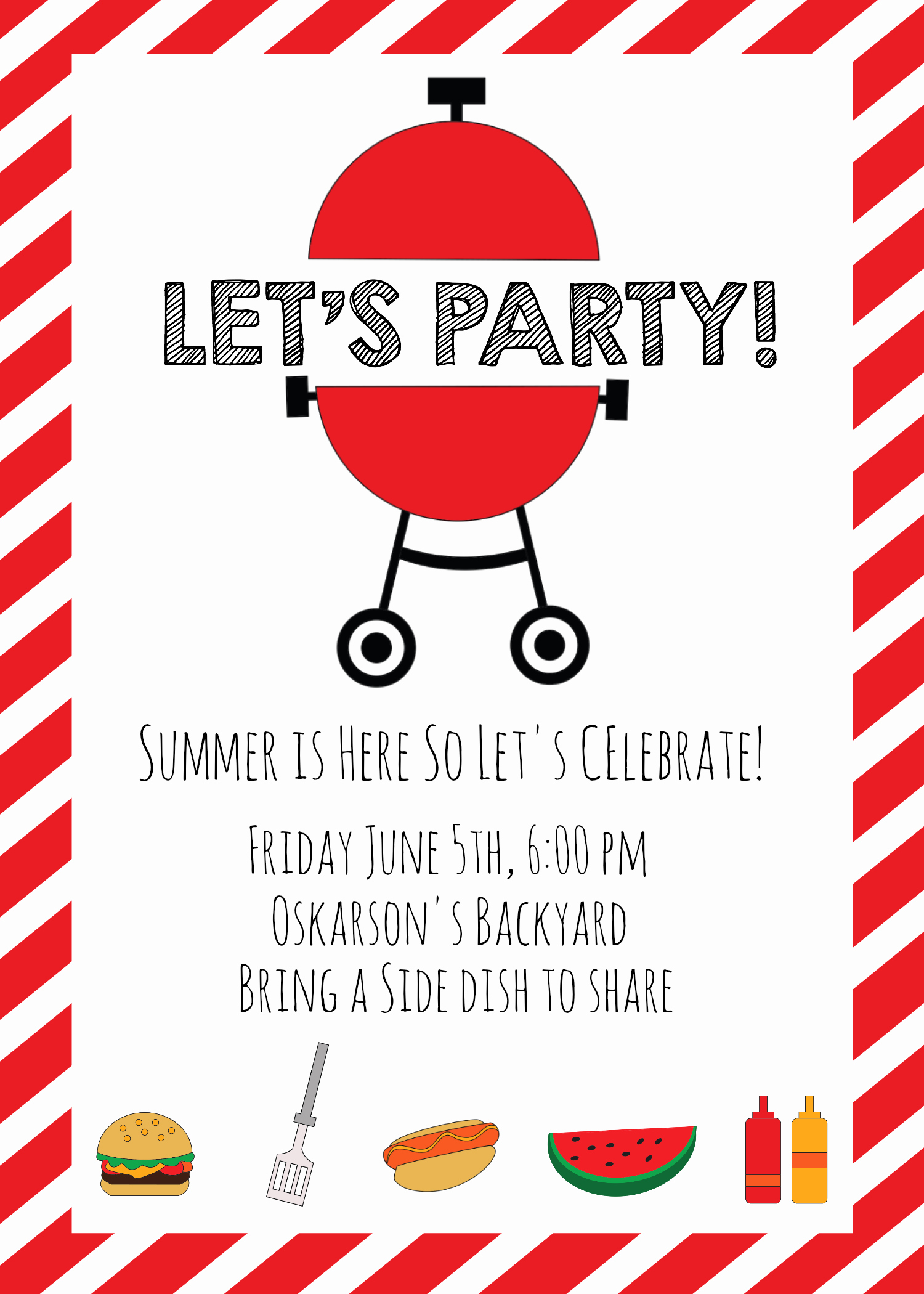 Bbq Party Invitation Wording Awesome Summer Bbq Invitations and Ideas