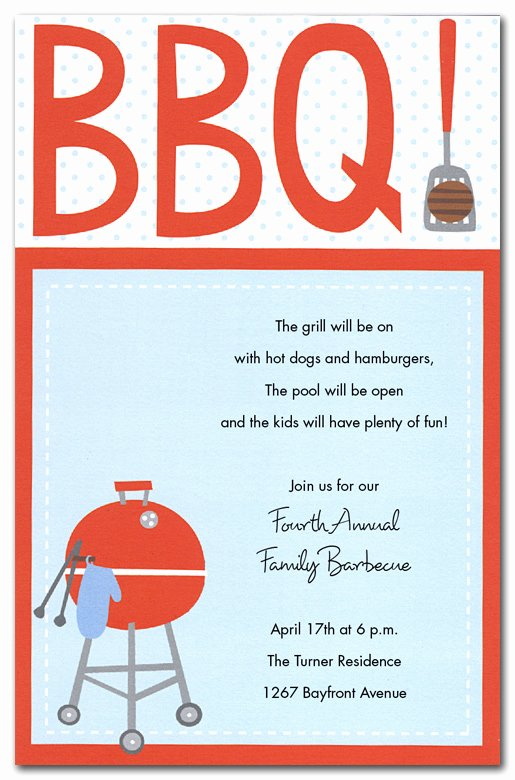 Bbq Party Invitation Wording Awesome Template Printable Gallery Category Page 93