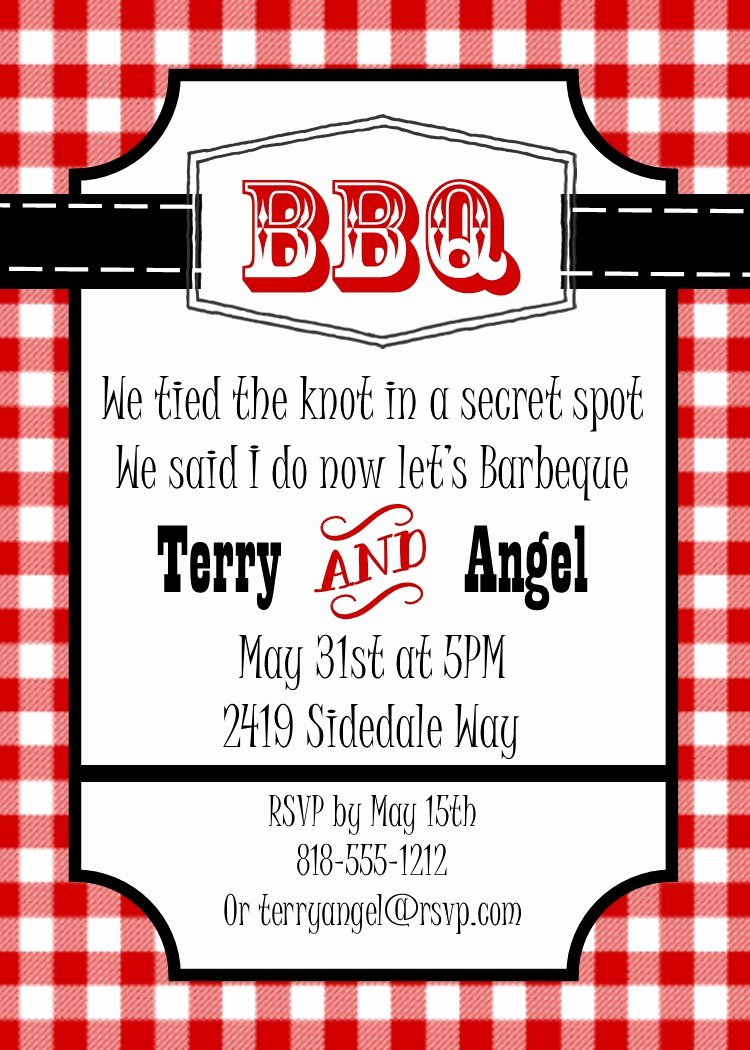 Bbq Party Invitation Wording Lovely Barbecue Party Invitations Bbq Invitations New Selections