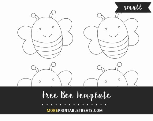 Bee Cut Out Template Best Of Bee Template – Small