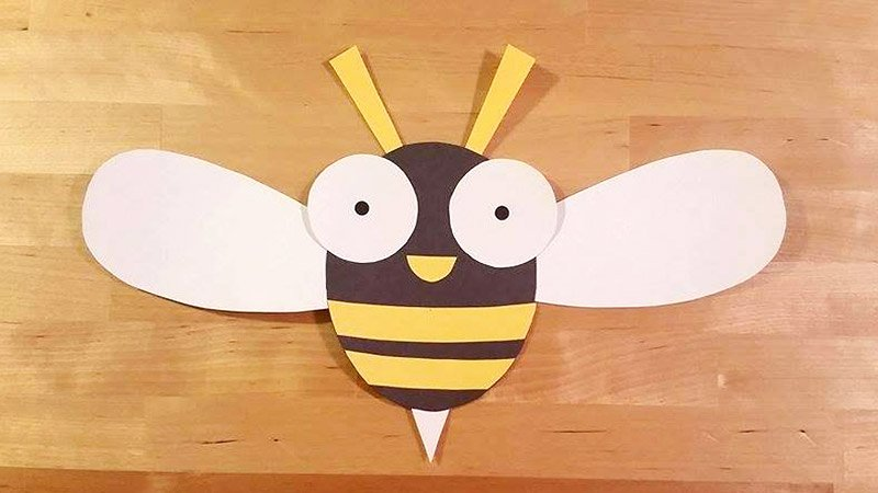 Bee Cut Out Template Best Of Buzzy the Bee Craft Template Kids Crafts