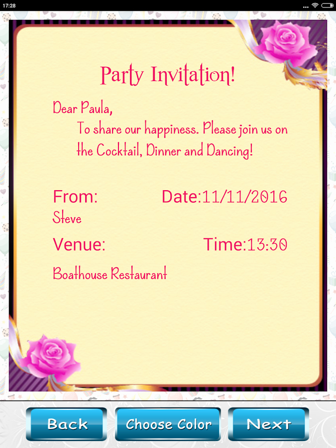 Best App to Create Invitations Fresh Party Invitation Card Designer android Apps On Google Play
