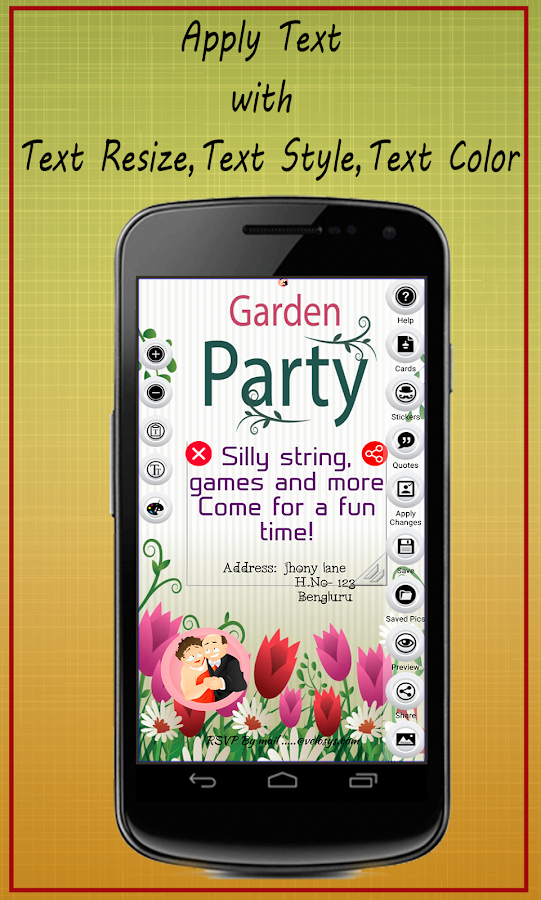 Best App to Create Invitations New Party Invitation Card Maker android Apps On Google Play