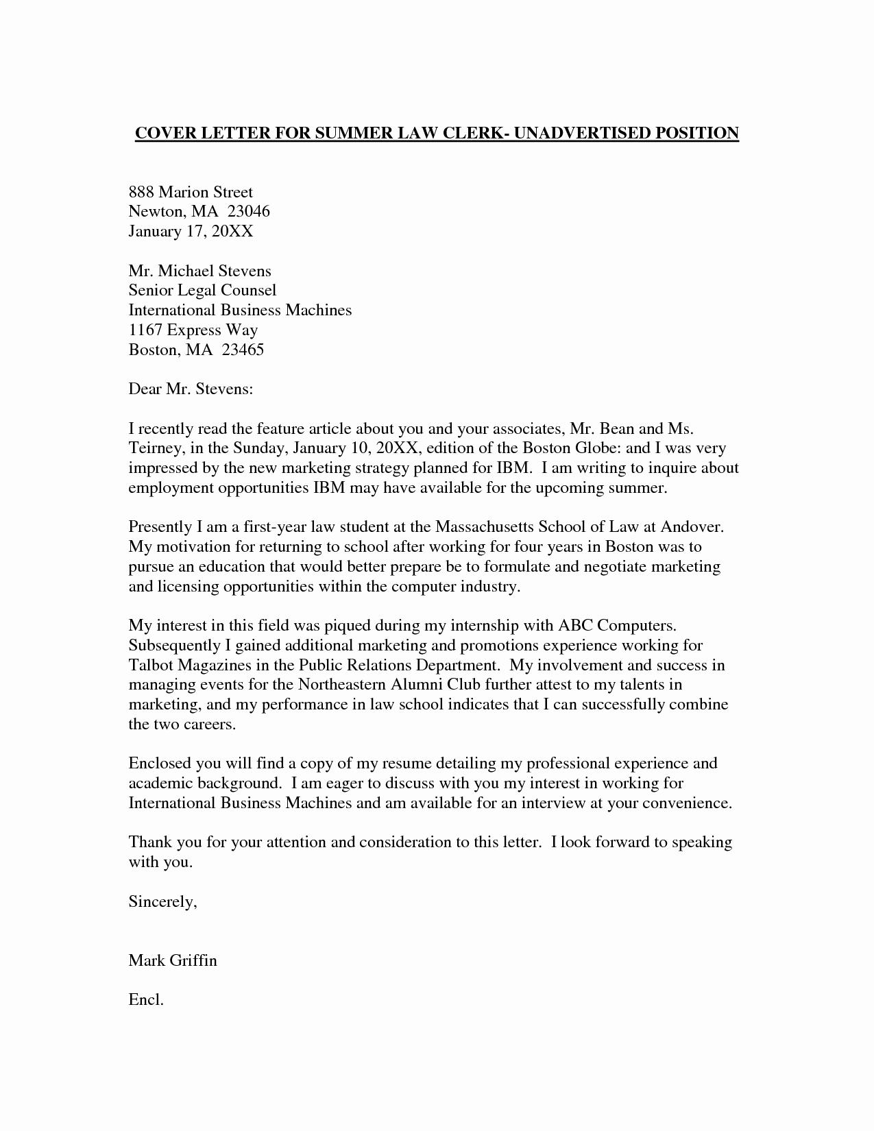 Best Cover Letter for Job Unique Employment Cover Letter Template Wondercover Letter